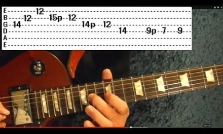 PAUL McCARTNEY – MY LOVE Solo – Guitar Lesson