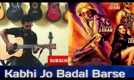 Kabhi Jo Badal Barse | Acoustic  Guitar Cover By Dhananjay Veer | jackpot  |