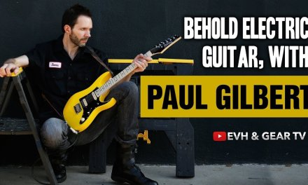 Paul Gilbert LIVE Behold Electric Guitar