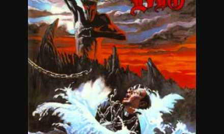 Dio – Holy diver  (Guitar backing track with vocals)