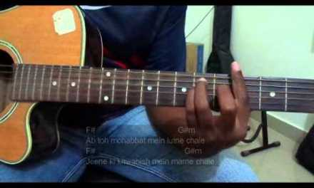 #GuitarLessons@Dinos: Creature 3D – Hum na rahe hum (Full Guitar chords Lesson/Tutorial)