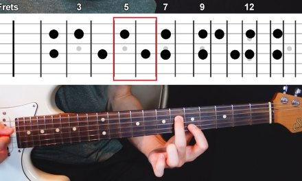 The Best & Easiest Intervals for Ambient Guitar (6th Intervals) – Chordal Lesson Ep.2