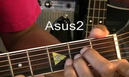 Guitar Chords Shapes Tutorial How To Play Fast Car Tracy Chapman Guitar Chords Asus2  E  F#m7