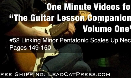 52 FREE GUITAR LESSON COURSE FOR BEGINNERS & INTERMEDIATE GUITARISTS | Link Minor Pentatonic Scales