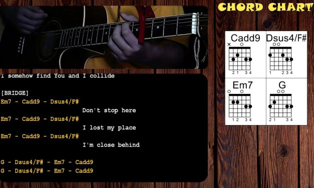 Collide by Howie Day – Guitar Chords