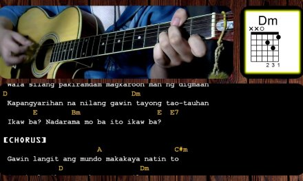 Gawing Langit Ang Mundo by Siakol |Acoustic |Guitar Chords |Tutorial