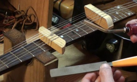 fixing guitar fret buzz when only one fret is buzzing