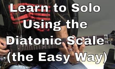 Guitar Solo Secrets – Learn to Solo Using the Diatonic Scale (the Easy Way)
