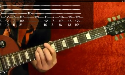 AC/DC – Hell's Bells – Guitar Lesson ( 2 of 2 ) – Easy!