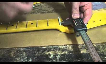 How to make a guitar nut and veterans day sale