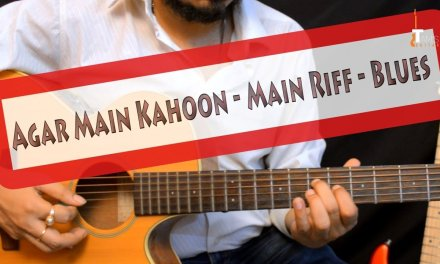 Agar Main Kahoon (Lakshya) main riff guitar lesson | Hindi | Detailed fingerstyle and hybrid picking