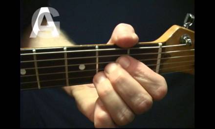 Rhythm Guitar Lesson Changing Chords Switching G to A