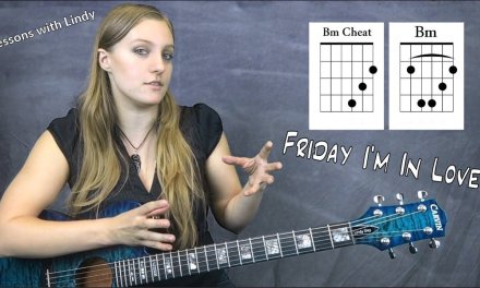 Friday Im in Love – The Cure   Easy beginner guitar lesson