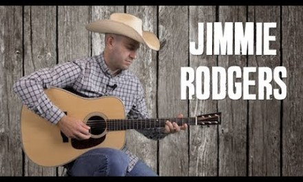 Jimmie Rodgers Style Country Strumming & Fill Riffs – Waiting for a Train – Easy Guitar Lesson
