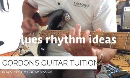 CHANGE it up a BIT!!….BLUES RHYTHM GUITAR LESSON