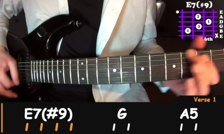 How to play – Jimi Hendrix – Purple Haze, easy guitar lesson (FULL+SOLO)