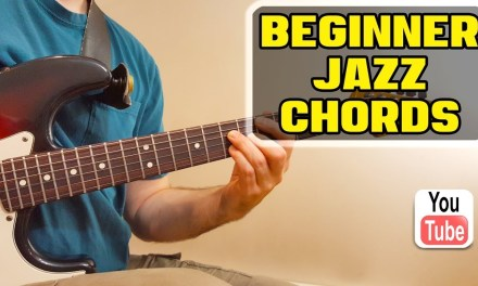 Absolute Beginner – Jazz Guitar Chord Lesson (EASY)