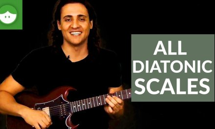 How To Play All the Diatonic Scales On The Fretboard