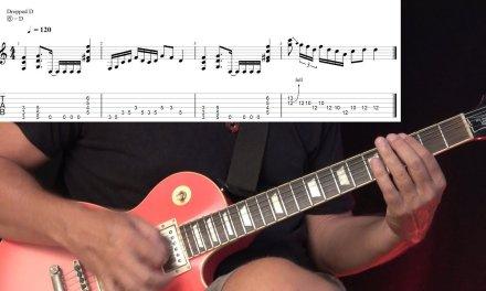 Haunting Blues Rock Riff – Guitar Lesson