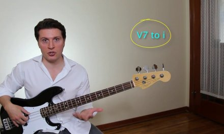 Bass Guitar Lesson – Harmonic Minor