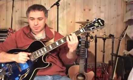Solo Fingerstyle pop and jazz guitar: Excerpts and samples from Jake Reichbart DVD tutorials