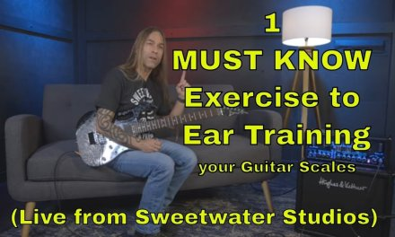 1 MUST KNOW Exercise to Ear Training: How to Explore the Sounds of Guitar Scales