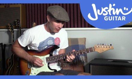 Rhythm Lick 2: Mayfield/Hendrix Style, Rhythm Guitar Lesson