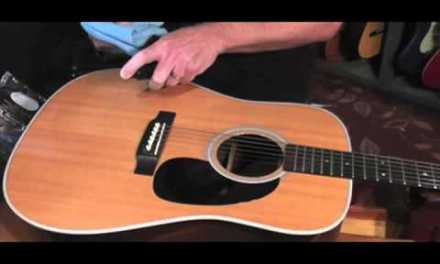 How to Clean & Polish a High Gloss Acoustic Guitar