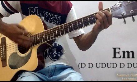Ae Zindagi Gale Laga Le – Guitar Chords Lesson+Cover, Strumming Pattern, Progressions