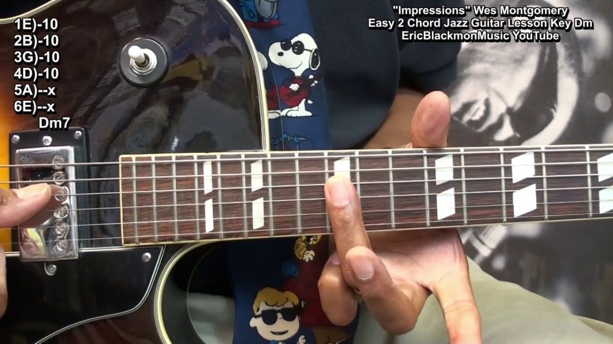 How To Play Impressions Wes Montgomery Jazz With 2 Easy Chords On