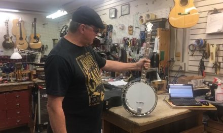 In The Shop: What is a Conversion Banjo? Also, a Martin 000-28 and a Wem Sapphire 12-string