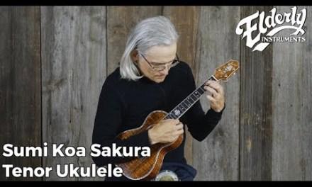 Sumi Koa Sakura Tenor Ukulele | Elderly Instruments