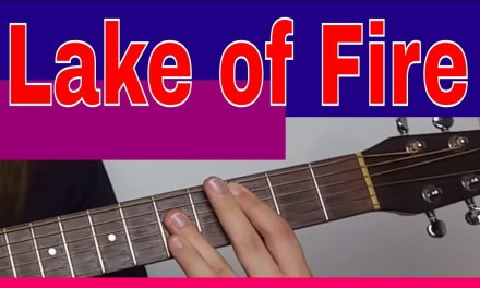 Nirvana Lake Of Fire Acoustic Lesson – Acoustic Barre Chord Guitar Lesson