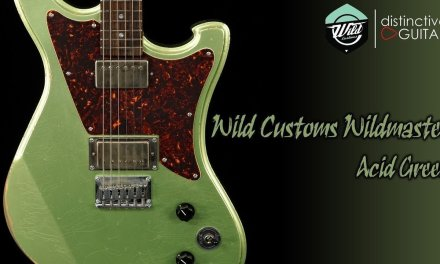 Wild Customs WildMaster Guitar | Acid Green NAMM Showpiece