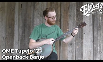Staff Picks: OME Tupelo 12″ Openback Banjo | Elderly Instruments