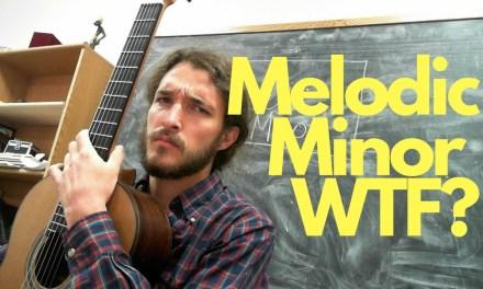 Making Sense of Melodic Minor on Guitar – Greensleeves
