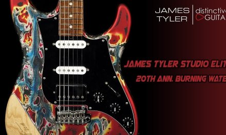 James Tyler Studio Elite   Signature 25th Anniversary Burning Water