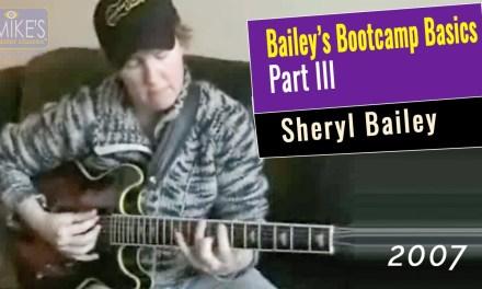 Sheryl Bailey – Advanced Jazz Guitar Class: Drop 2 Voicings