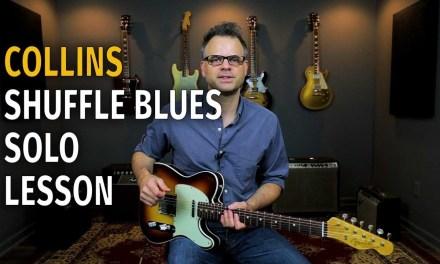 Albert Collins Blues Solo Lesson