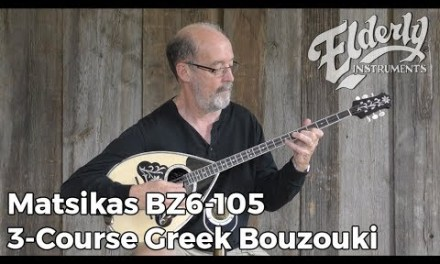 Matsikas BZ6-105 3-Course Greek Bouzouki | Elderly Instruments