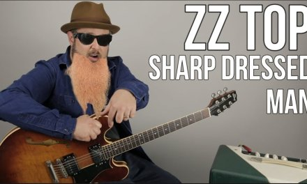 """ZZ Top """"Sharp Dressed Man"""" Guitar Lesson – How to Play on Guitar"""
