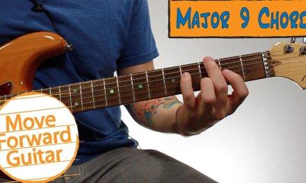 Beginner Jazz Guitar Chords – Major 9