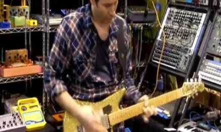 Blues Saraceno sharing great licks – NAMM 2010