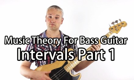 Music Theory for Bass Guitar – Intervals Part 1