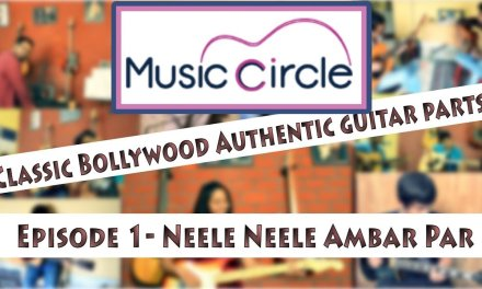Neele Neele Ambar Par – Watch n Learn Guitar Lesson – Classic Bollywood Guitar Episode 1