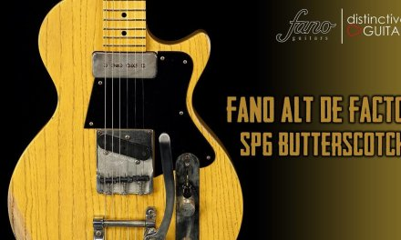 Fano Alt De Facto SP6   Butterscotch Blackguard w/ Bigsby