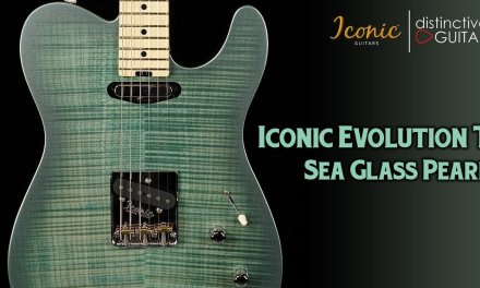 Iconic Evolution T Limited | Sea Glass Pearl Tele