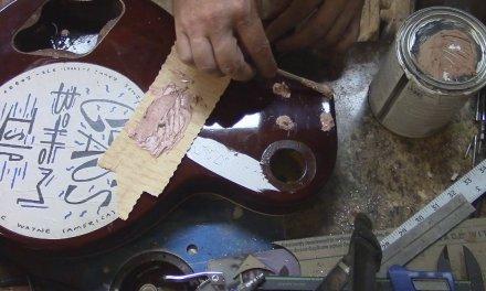 les paul repair and restoration part 1
