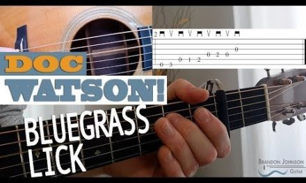 LICK #4 – Doc Watson | Bluegrass Guitar Lesson with TAB
