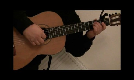 "Sad but Beautiful ""Mad World"" Classical Guitar"